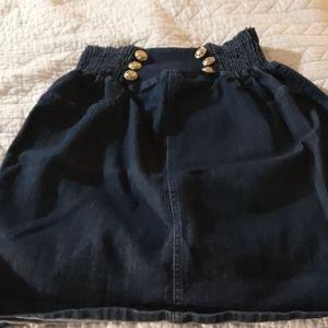 Judy Blue Jean skirt